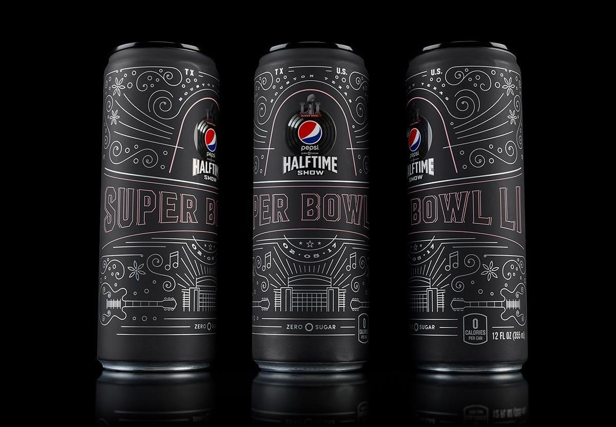 2312f5951c44d7 Pepsi Launches Limited Edition Commemorative Super Bowl LI Can ...